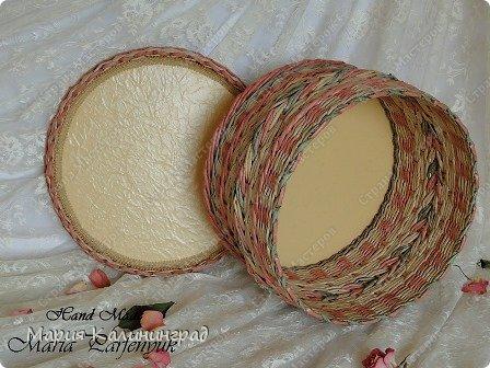 Мастер-класс Поделка изделие Плетение мк трёхцветной косы и пара плетушек Бумага газетная Трубочки бумажные фото 3