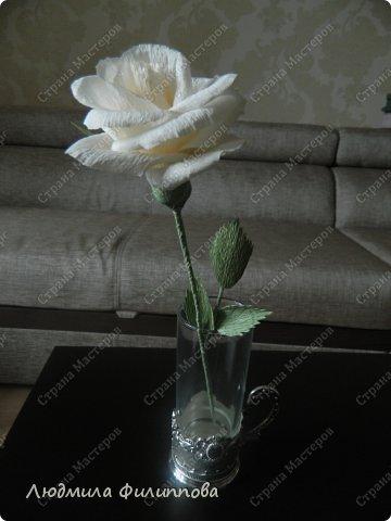 Добрый день дорогие мастерицы! Хочу поделиться с Вами своим способом изготовления роз из гофрированной бумаги. Америку я не открыла, в Стране много подобных МК, но у каждого, в том числе и у меня, своя технология. Может кому-нибудь пригодится мой МК. фото 62
