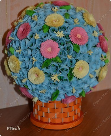 цветочный шарик фото 1