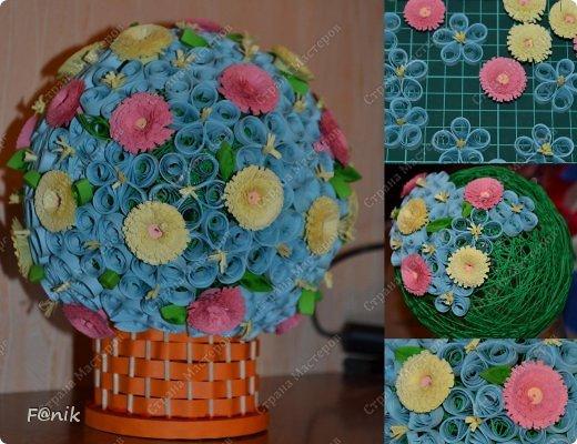 цветочный шарик фото 2