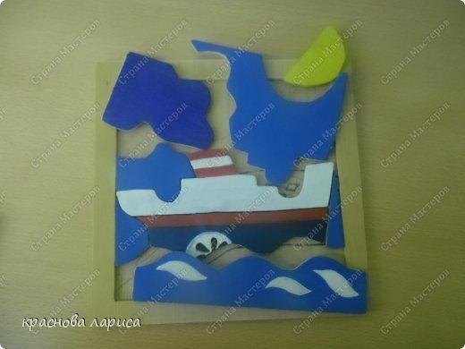 """головоломка """"На море"""" фото 2"""