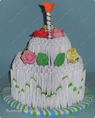 Вот и готов этот прекрасный тортик! фото 1