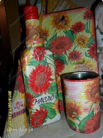 подарочные наборы к 8 марта(разделочная доска, бутылка для масла, маленькая для соуса или уксуса, баночки для специй или соли, лопатка) фото 8