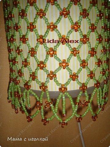 Декор предметов Бисероплетение Ночник для дочки Бисер фото 2.