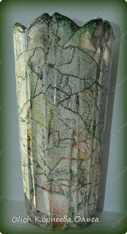 Декор предметов Декупаж Имитация под камень и обратный декупаж Бумага Краска Салфетки Стекло фото 1