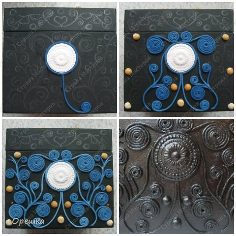 Поделка изделие Бумагопластика Пейп- арт разные мелочи Салфетки фото 3