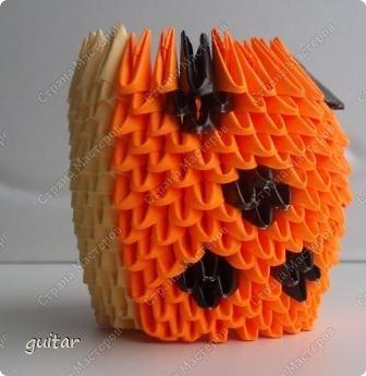 Мастер-класс Поделка изделие День семьи Оригами китайское модульное Божьи коровки МК Бумага Картон Клей фото 15