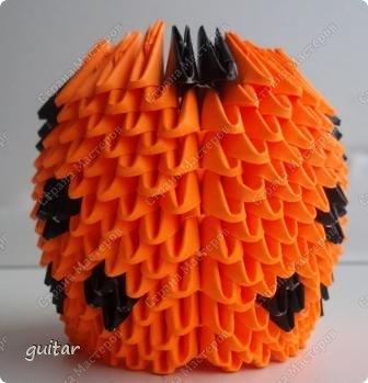 Мастер-класс Поделка изделие День семьи Оригами китайское модульное Божьи коровки МК Бумага Картон Клей фото 16
