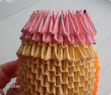 Мастер-класс Поделка изделие День семьи Оригами китайское модульное Божьи коровки МК Бумага Картон Клей фото 19
