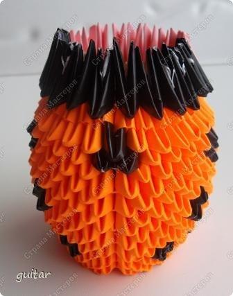 Мастер-класс Поделка изделие День семьи Оригами китайское модульное Божьи коровки МК Бумага Картон Клей фото 17