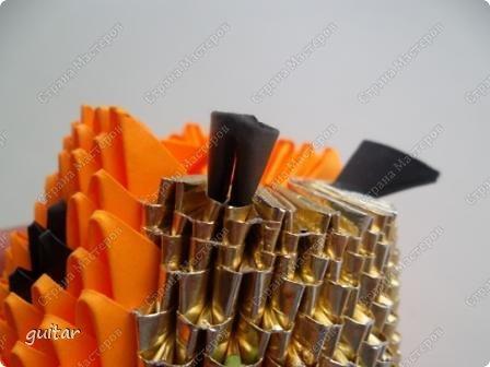 Мастер-класс Поделка изделие День семьи Оригами китайское модульное Божьи коровки МК Бумага Картон Клей фото 26