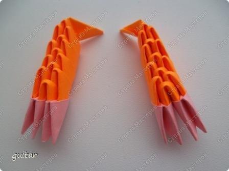 Мастер-класс Поделка изделие День семьи Оригами китайское модульное Божьи коровки МК Бумага Картон Клей фото 25