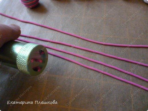 Такие бусинки делать очень легко, а смотрятся интересно.   фото 3