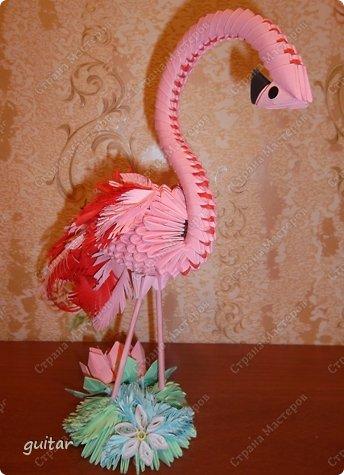 модульное Розовый фламинго