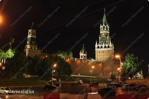 Ночная Москва. Красная площадь