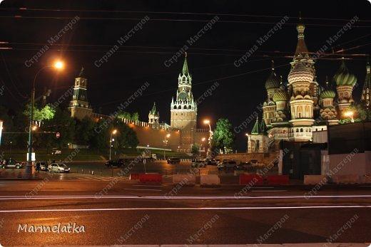 Ночная Москва. Красная площадь фото 2