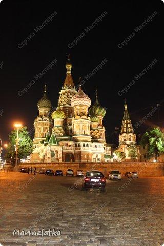 Ночная Москва. Красная площадь фото 3