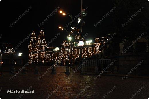 Ночная Москва. Красная площадь фото 4