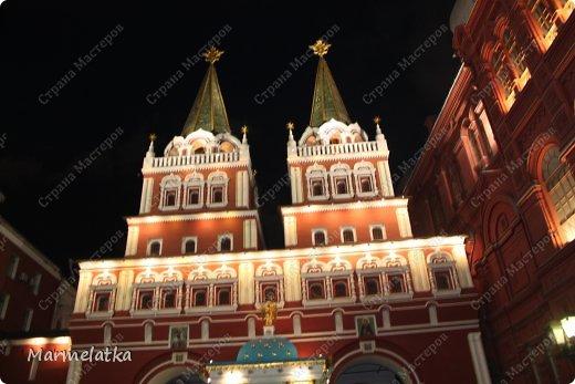 Ночная Москва. Красная площадь фото 5