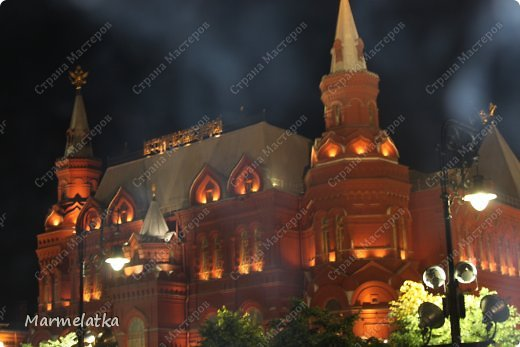 Ночная Москва. Красная площадь фото 6
