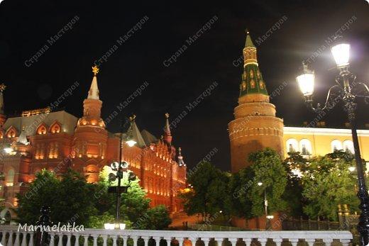 Ночная Москва. Красная площадь фото 7