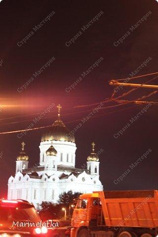 Ночная Москва. Красная площадь фото 8
