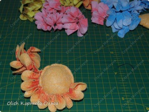 Цветы из тряпочек