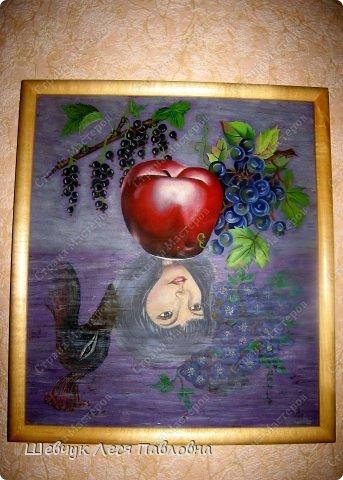 Привет Всем!Хочу представить свои картины нарисованные за всю мою жизнь. Рисовала маслом. Эта картина была собрана из нескольких фото из журнала. фото 2