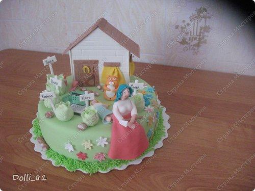 Торт для мамы 5 детей