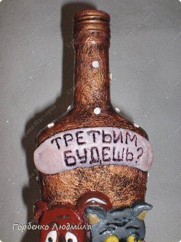 Здравствуйте,жители СМ!Выставляю на Ваш суд две бутылочки-давно хотела пополнить свою бутылочную коллекцию такими экземплярами!Прошу любить и жаловать) фото 10