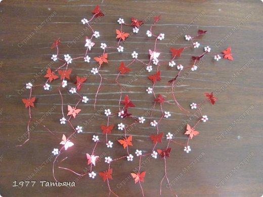 Добрый вечер, дорогие!  Вот и результат обещанного МК по цветочно-бабочковым деревцам.  Остальные деревца можно посмотреть тут: https://stranamasterov.ru/node/554779  и тут: https://stranamasterov.ru/node/594291  Приступаем! фото 9