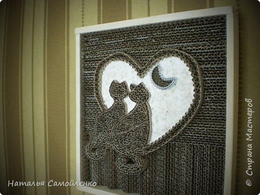 """Ну, как же пройти мимо гофрированного искусства от Марка Лангана!!!!???  http://rndnet.ru/part-photop/gofrirovannoe-iskusstvo-ot-mark-langan/ Решила попробовать!!!!  Итак, моё первое гофрированное искусство """" Любовь"""":-)  фото 2"""