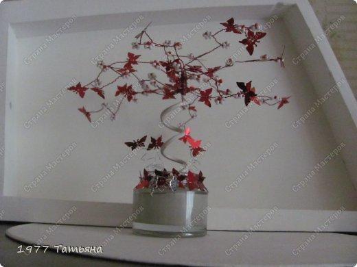 Добрый вечер, дорогие!  Вот и результат обещанного МК по цветочно-бабочковым деревцам.  Остальные деревца можно посмотреть тут: https://stranamasterov.ru/node/554779  и тут: https://stranamasterov.ru/node/594291  Приступаем! фото 1