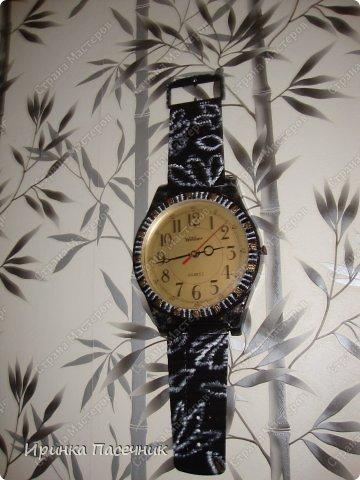 Решила я заняться переделкой))))) Были у мамы старые часы, которые уже давно надоели. Пришла мне мысль их обновить в тон кухни. Вот, что получилось! фото 2