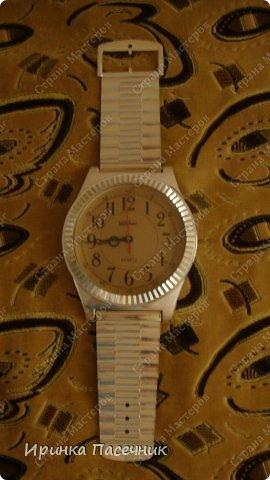 Решила я заняться переделкой))))) Были у мамы старые часы, которые уже давно надоели. Пришла мне мысль их обновить в тон кухни. Вот, что получилось! фото 3