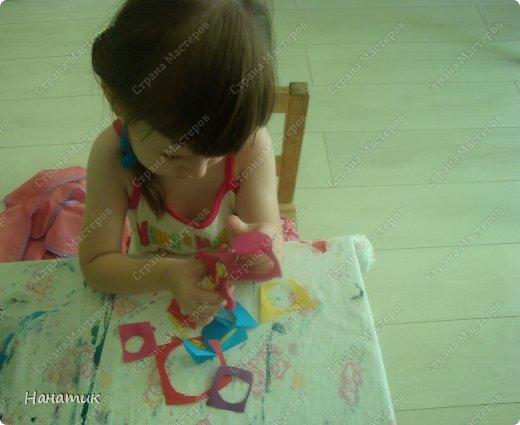 Открытка от Алиночки (дочурке 3,7)  сделана дяде на ДР. Идея взята на сайте Крокотак. фото 3