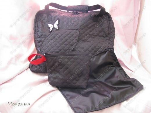 По просьбе сестренки сшила ей дорожную сумку-органайзер для поездок. МК и идею  по пошиву такой сумки взяли вот тут: http://www.vsehobby.ru/sumka_organajzer.html фото 1