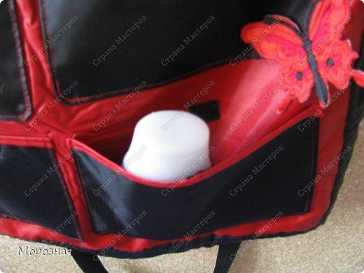 По просьбе сестренки сшила ей дорожную сумку-органайзер для поездок. МК и идею  по пошиву такой сумки взяли вот тут: http://www.vsehobby.ru/sumka_organajzer.html фото 4