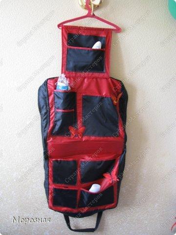 По просьбе сестренки сшила ей дорожную сумку-органайзер для поездок. МК и идею  по пошиву такой сумки взяли вот тут: http://www.vsehobby.ru/sumka_organajzer.html фото 3