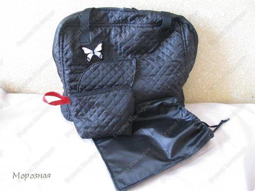 По просьбе сестренки сшила ей дорожную сумку-органайзер для поездок. МК и идею  по пошиву такой сумки взяли вот тут: http://www.vsehobby.ru/sumka_organajzer.html фото 7