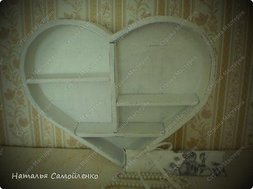 """В моём альбоме """" Любимый магазин в Нидерландах"""", можно  увидеть фотографию полочки в виде сердца https://stranamasterov.ru/node/597089 Вот и первый результат прогулки по магазинам!:-) фото 3"""