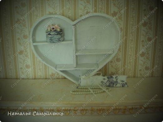 """В моём альбоме """" Любимый магазин в Нидерландах"""", можно  увидеть фотографию полочки в виде сердца https://stranamasterov.ru/node/597089 Вот и первый результат прогулки по магазинам!:-) фото 4"""