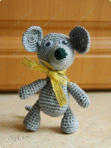 Делала подарок по летней Игре-сюрпризу для замечательной мастерицы Юли (Крысена лапчатая). Разве я могла обойтись без мышей?! Юля подарок получила, значит я могу его показать всем фото 5