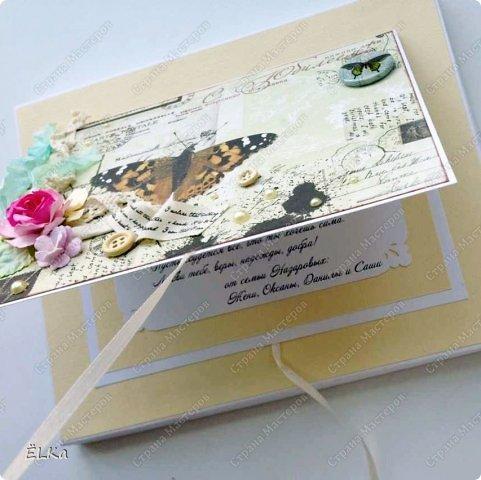 И снова здравствуйте! На этот раз я с упаковкой. В наше время редко когда дарят книжки, но это как раз тот случай :) Заказчица попросила сделать коробочку для книжки размером 17х22х1 см. Основу сделала из ватмана, светло-бежевая подложка - это текстурированная бумага для пастели. фото 5