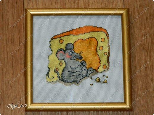 Делала подарок по летней Игре-сюрпризу для замечательной мастерицы Юли (Крысена лапчатая). Разве я могла обойтись без мышей?! Юля подарок получила, значит я могу его показать всем фото 2