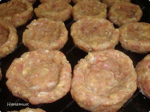 Кулинария Мастер-класс Рецепт кулинарный Гнезда из фарша с сочной начинкой Продукты пищевые фото 6