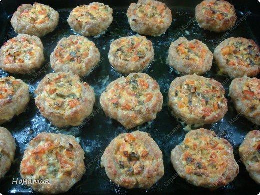 Кулинария Мастер-класс Рецепт кулинарный Гнезда из фарша с сочной начинкой Продукты пищевые фото 1