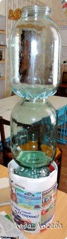 Itens de decoração Oficina de Março de aniversário do dia de Simulação vaso de vidro projeto do Dia das Mães Professor 8 Banks argila Pinte Twine 4 fotos