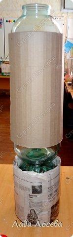 Itens de decoração Oficina de Março de aniversário do dia de Simulação vaso de vidro projeto do Dia das Mães Professor 8 Banks argila Pinte Twine 5 fotos