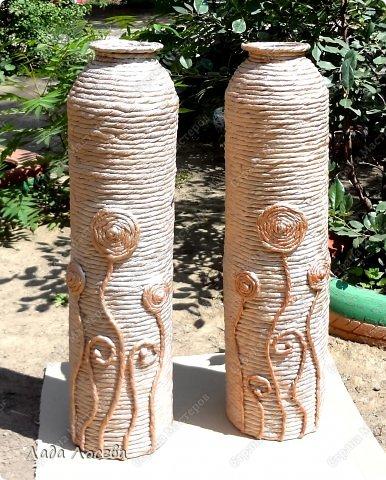 Как сделать из 3 литровой банки вазу своими руками 77